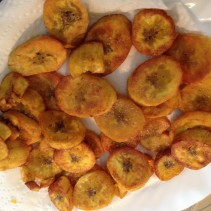 How to fry plantains in coconut oil