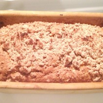 Zucchini Bread Recipe with coconut oil