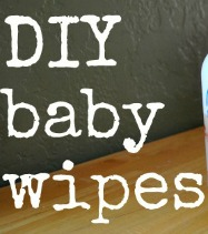 homemade diy baby wipes