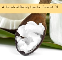 4 diy Household Beauty Uses for Coconut Oil