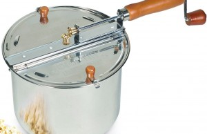 stove-top popcorn maker
