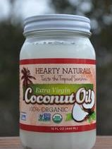 Hearty Naturals Coconut Oil